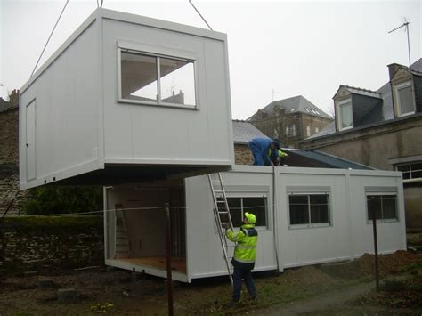 bureau de chantier transport construction modulaire prefabrique