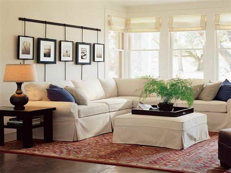 Furniture: Dramatic Living Room Ideas With Pottery Barn ...