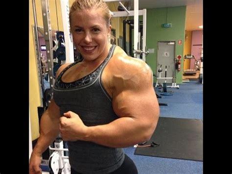 female bodybuilding demonstrates youtube
