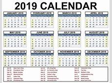 Printable School Holidays 2019 Calendar London Calendar