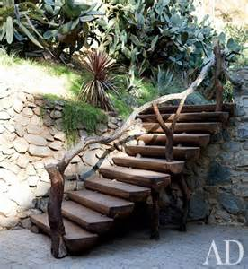 Rustic Outdoor Stairs