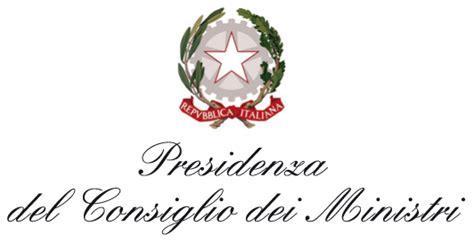 presidenza consiglio dei ministri contatti via da cdm ok preliminare a nuova disciplina ministero