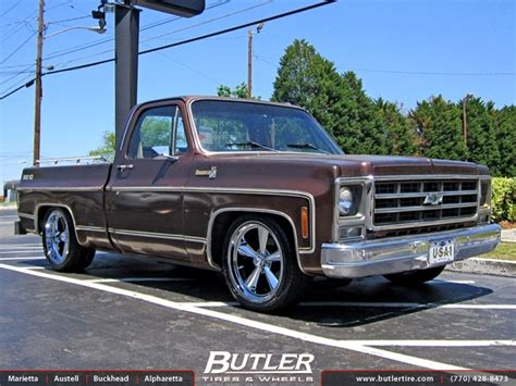 Chevrolet C10 With 18in Us Mag 104 Wheels Exclusively From