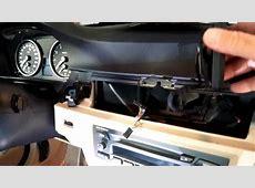 BMW Garmin Nuvi 3790T GPS Mount installation YouTube