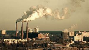 Chimneys Power Plant with Huge Toxic Smoke. Air Pollution ...