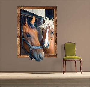 Horse frame wall decal large decals primedecals