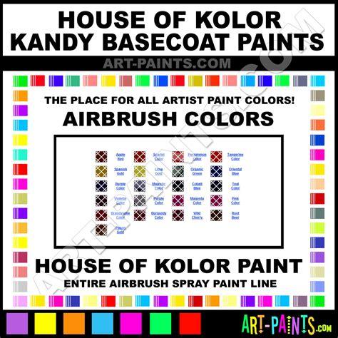 brandywine kandy basecoats airbrush spray paints kbc01