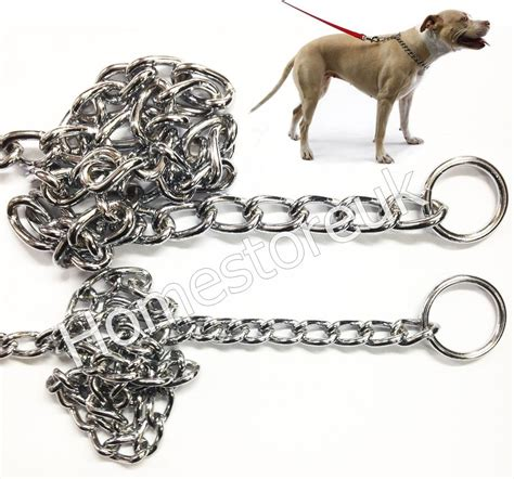 quality choke choker check chain  pet puppy dog collar
