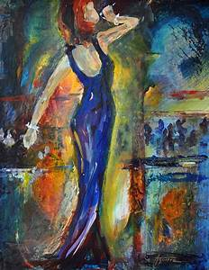 The Jazz Singer Painting by Betsy Aguirre