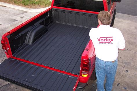 31810 truck bed spray liner vortex sprayliners vortex spray on liners