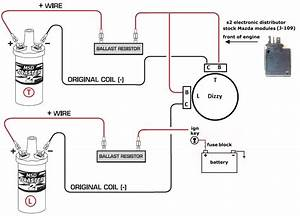 B9657 Electronic Ignition Coil Wiring Diagram