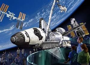 NASA - NASA to Enhance Shuttle Story at Kennedy with Atlantis