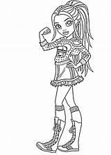 Moxie Hatchet Coloringtop sketch template