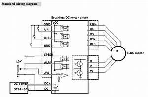 Bld500 48v 500w Bldc Motor Driver