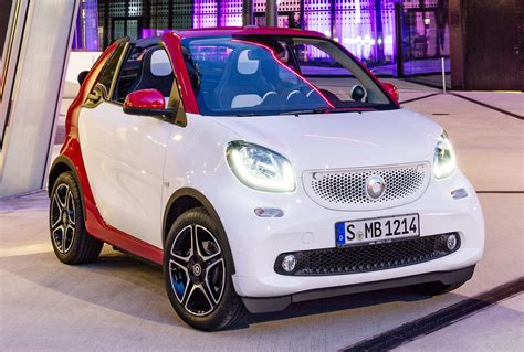 2018 Smart Fortwo Cabrio Revealed Debuts In Frankfurt