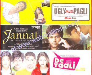 India is considered the cradle of human civilization with a rich linguistic past. Buy UGLY AUR PAGLI - JANNAT - DE TAALI - 3 in 1 DVD DVD online