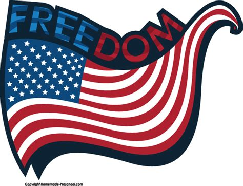 Freedom Clipart Free American Flags Clipart