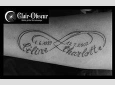 Tatouage Coeur Infini Avec Initiale Tattoo Art