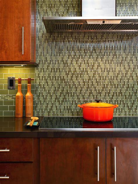 glass backsplashes for kitchen backsplash ideas for granite countertops hgtv pictures