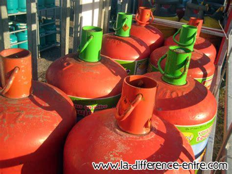 difference entre bouteille de gaz butane et propane quelle est la difference entre butane et propane