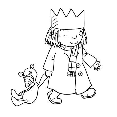 Kleurplaat Prinses Met Kleine Huisjes by Leuk Voor Kleine Prinses 0001