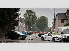 Birmingham crash Driver of £100k Audi R8 held over death