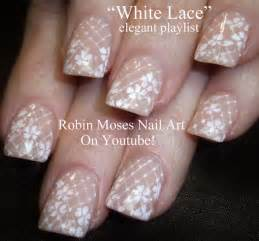 Nail art quot romantic nails prom white lace