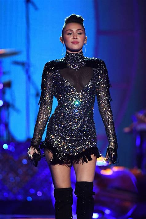 MILEY CYRUS Performs at Iheartradio Music Festival in Las ...