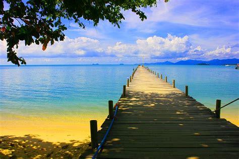 pier sea tropical  photo  pixabay