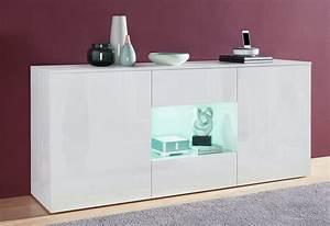 Sideboard Weiß Hochglanz 180 Cm : tecnos sideboard breite 180 cm online kaufen otto ~ Indierocktalk.com Haus und Dekorationen