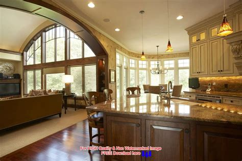 house plans with great kitchens decorating an open floor plan ideas acadian house plans