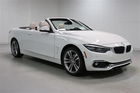 2019 Bmw 4 Convertible by Pre Owned 2019 Bmw 4 Series 430i Xdrive Convertible