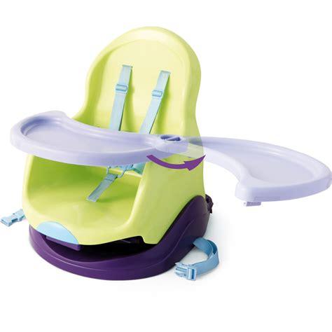 si鑒e rehausseur table réhausseur bébé avec plateau vert prune 10 sur allobébé