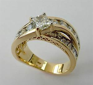 Hand made redesign of an old ring by limpid jewelry inc for What are wedding rings made of