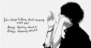 Anime quotes   ... Anime Boy Quotes