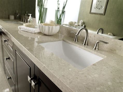 high end laminate countertops marble bathroom countertop options hgtv