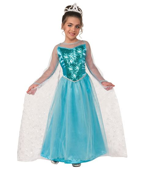 ice krystal princess girls costume princess costumes
