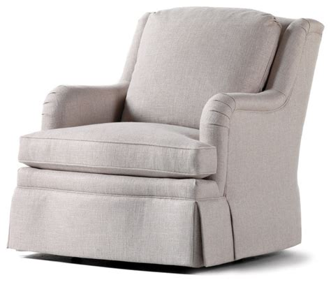 charles swivel rocker chairs charles chad swivel rocker adell linen fabric