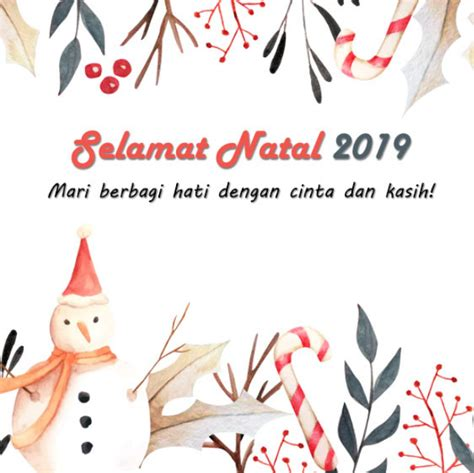 Seperti menggunakan desain minimalis dan modern. Gambar Kartu Ucapan Natal Dan Tahun Baru 2020 | Download ...
