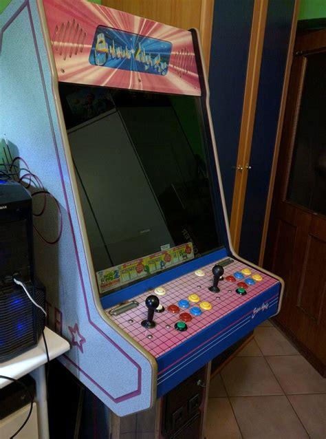 cabinati arcade come costruire un cabinato arcade