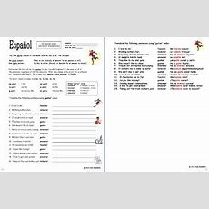 Spanish Gustar Verbs And Indirect Object Pronouns Worksheet By Sue Summers