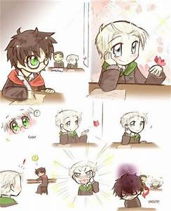 Harry and Draco... Drarry Cute