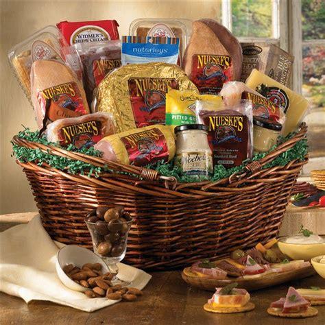 Meat And Cheese  Ee  Gift Ee   Basket  Ee  Gift Ee   Basket Supreme Nueskes