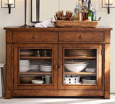 pottery barn kitchen cabinets brayden buffet pottery barn 4375