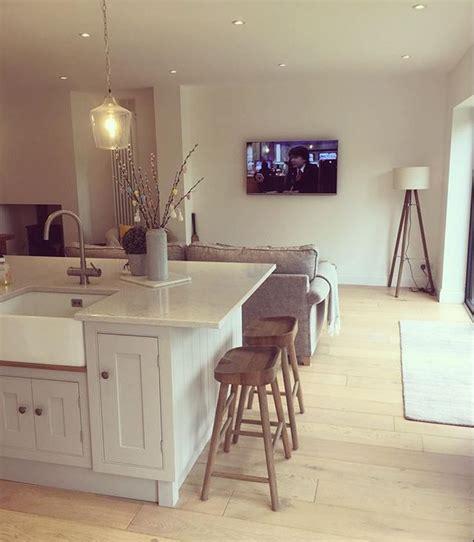 kitchen island counter stools best 25 small open plan kitchens ideas on