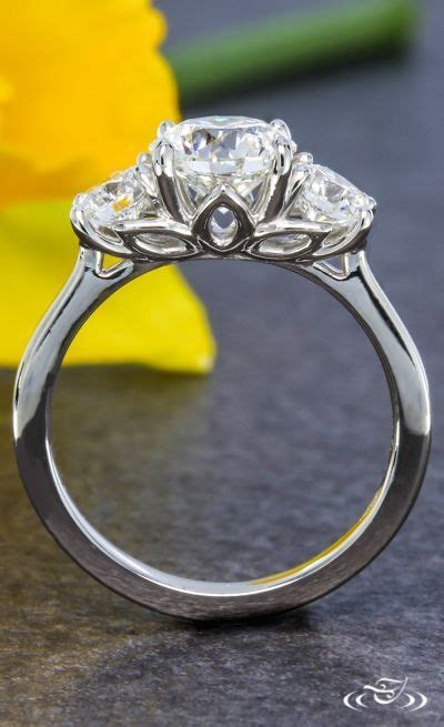 25 best ideas about three stone rings pinterest three stone engagement rings 3 stone