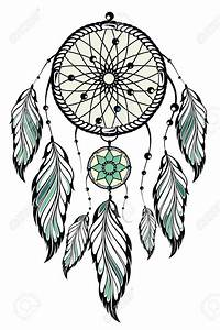 atrapasuenos dibujo blanco y negro buscar con google With dream catcher tattoo template