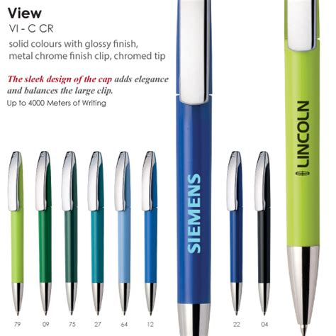 Promotional Maxema View Pens