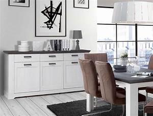 Kommode Weiß Landhausstil : kommode weiss grau 175x93cm schneeeiche anrichte sideboard landhausstil gaston 5 ebay ~ Eleganceandgraceweddings.com Haus und Dekorationen