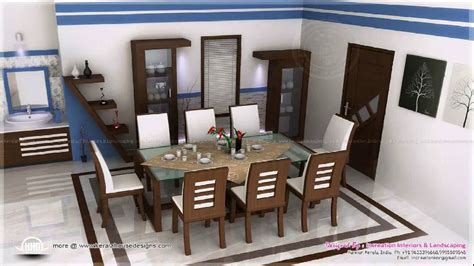 Kerala Home Dining Room Design Youtube
